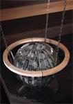 Harvia Globe GL110 потолочная подвеска, защитное ограждение и защита полка из стекла